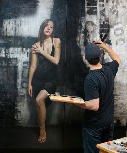 David Kassan Wall Painting