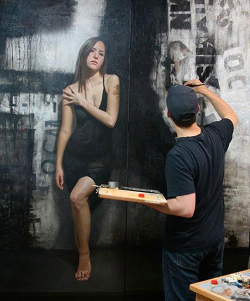 David Kassan Wall Painting