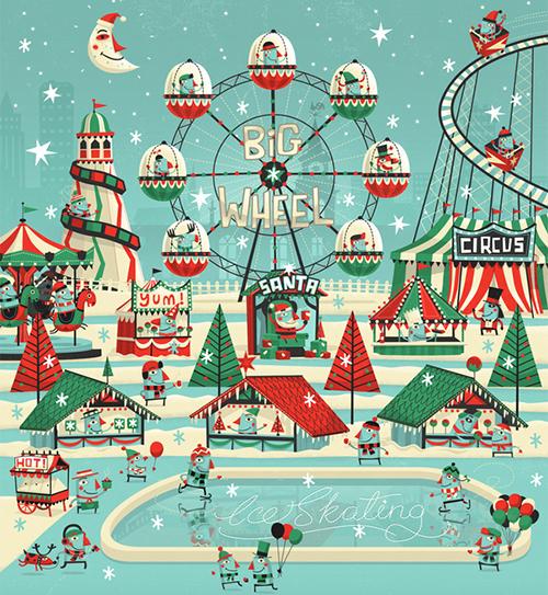 7up Winter Wonderland