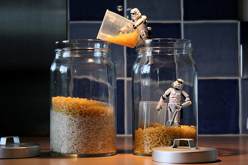 Rice stormtrooper photogprahy