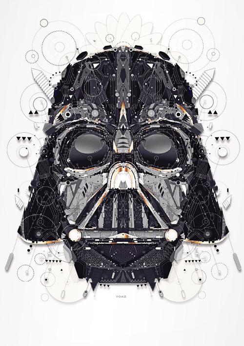 Dark vader star wars Yo Az art
