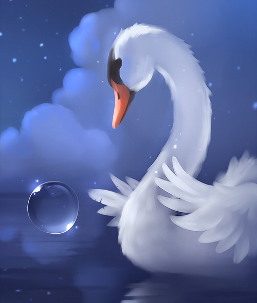 White swan nice
