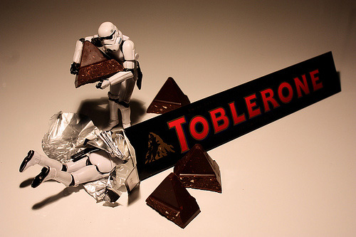 Chocolate stormtrooper photogprahy