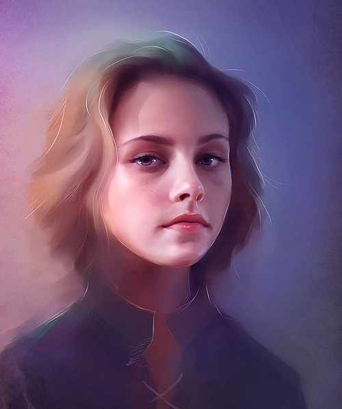 Kristen stewart illustration