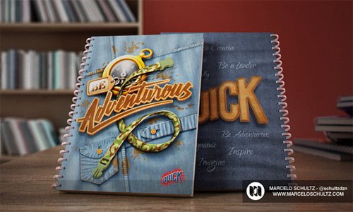 adventorous quick notebook cover designs