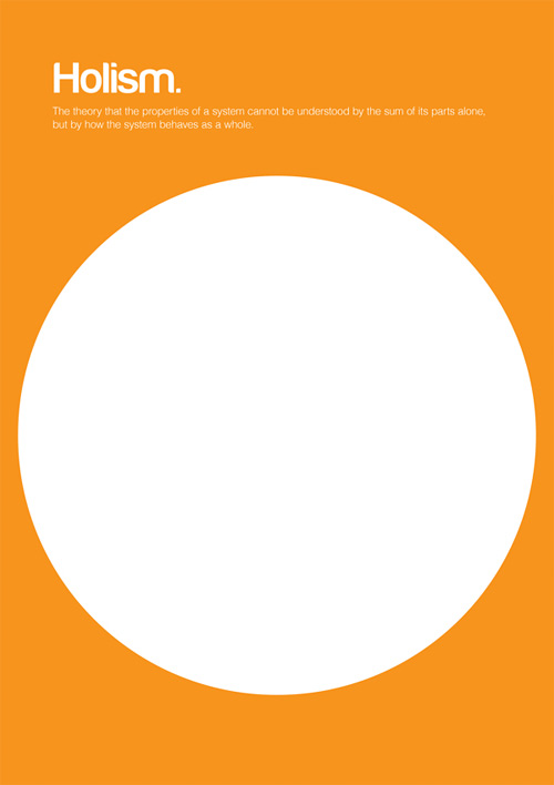 Holism philosophy philographics carreras