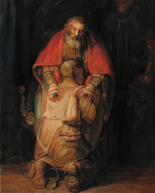oleg shuplyak optical illusion oil painting