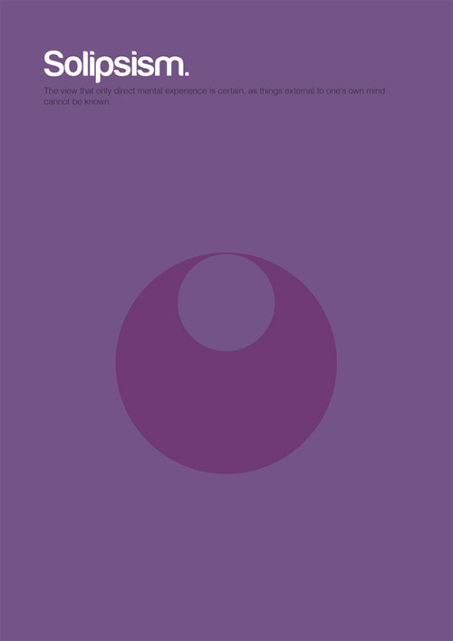 Solipsism philosophy philographics carreras