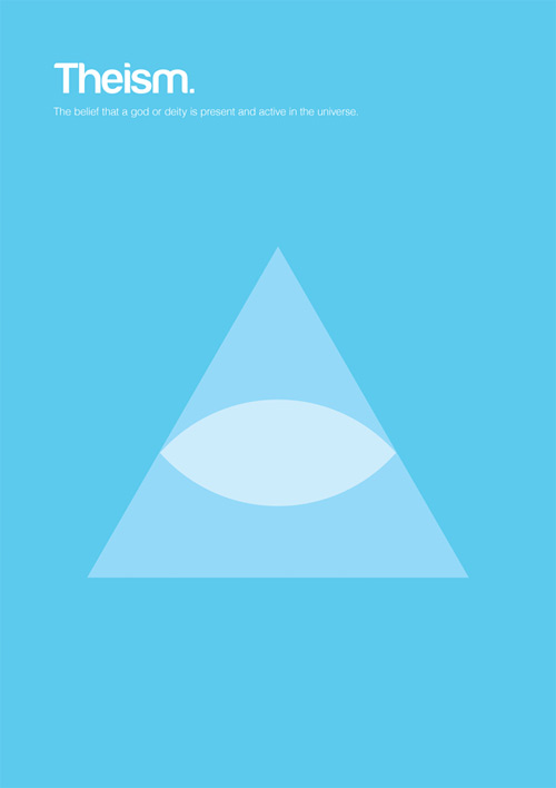 Theism philosophy philographics carreras