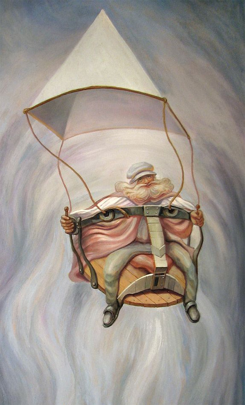 oleg shuplyak optical illusion oil painting