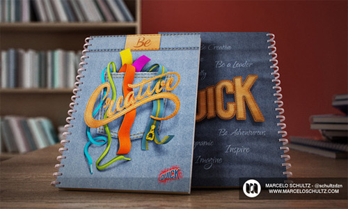 creative  quick notebook cover designs