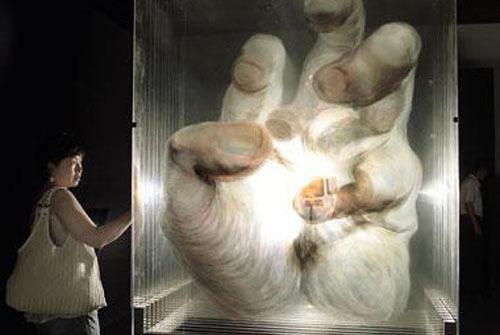 xia xiaowan spatial painting glass 3D