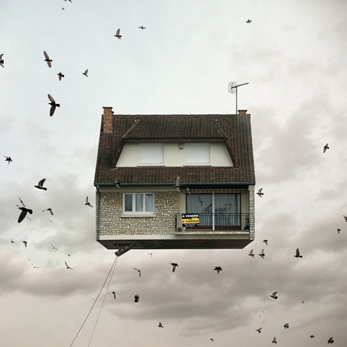 laurent chehere flying houses