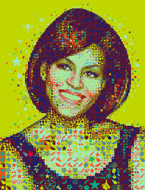 Michelle Obama for Hemispheres Magazine