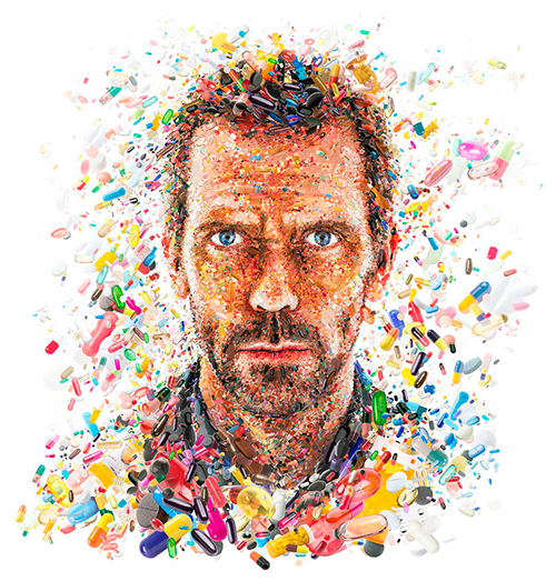 Hugh Laurie for TV Guide