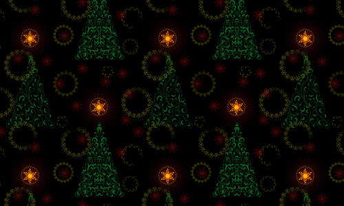 Star free christmas tree patterns