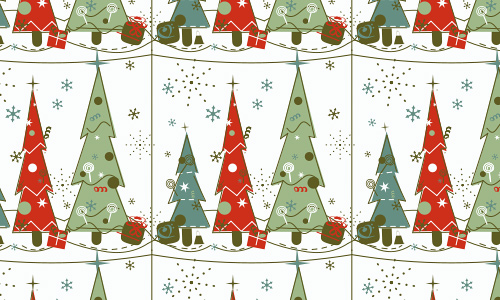Fun free christmas tree patterns