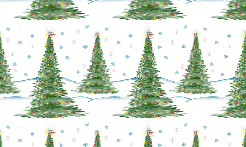 Green free christmas tree patterns