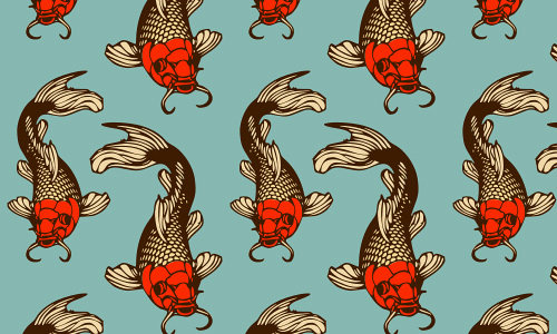 Koi free fish patterns