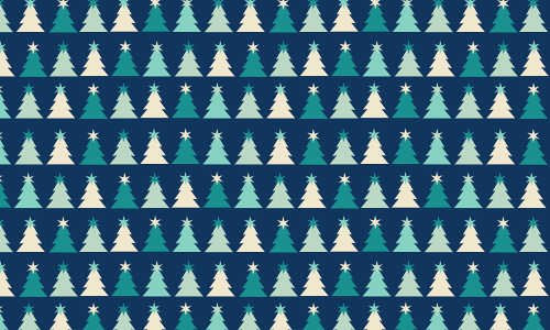 Blue white free christmas tree patterns