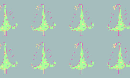 doodle Christmas patterns free