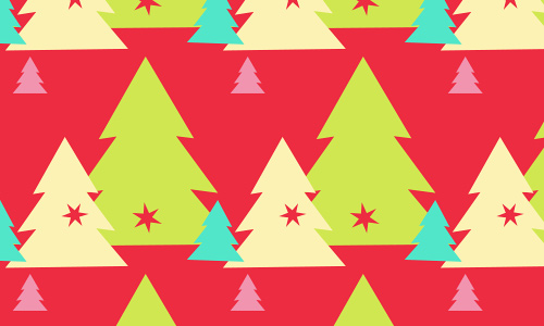 Sweet free christmas tree patterns