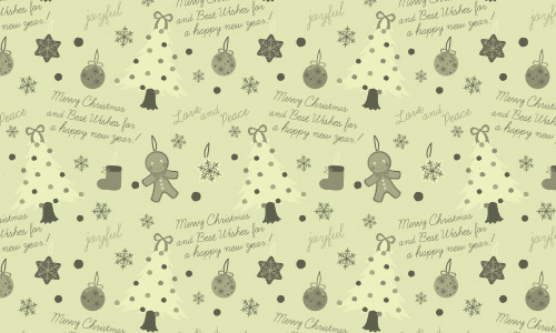 retro Christmas patterns