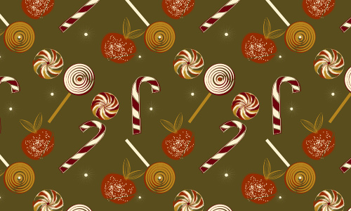 Candies free christmas tree patterns