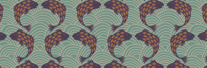 "Create An ""Under The Sea"" Feel With These Free Fish Themed Patterns"