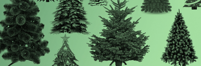 Warm Your Holiday Design With These Free Christmas Tree Brushes