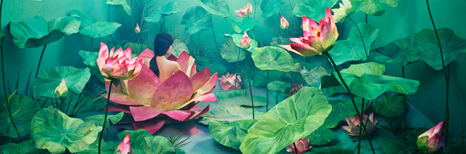 Simple Studio Turned to Several Surreal and Unworldly Dreamscapes