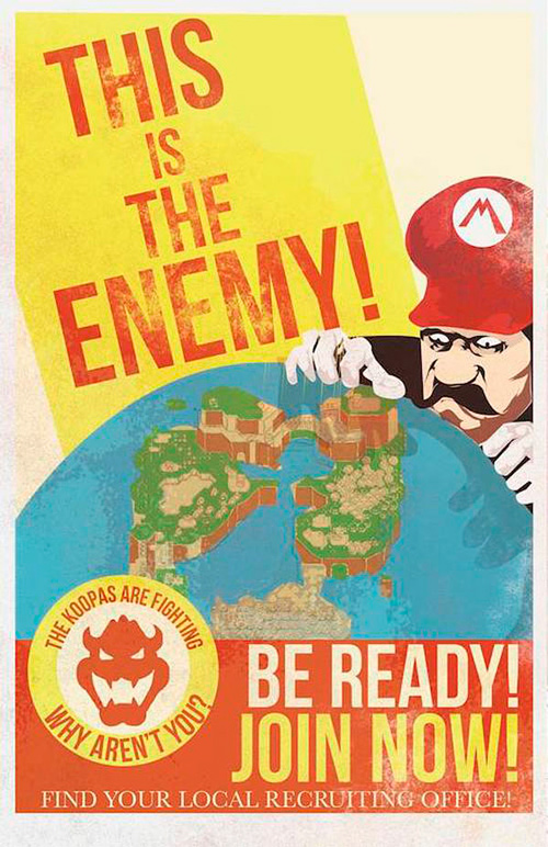 Fernando Reza Mario WW2 Propaganda