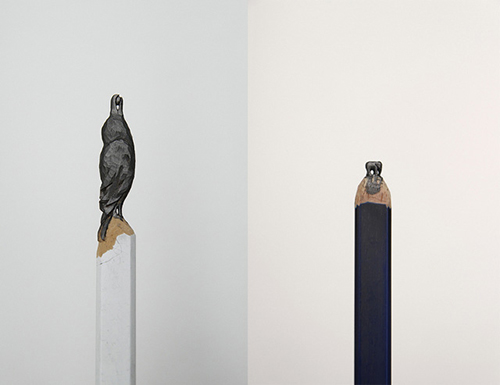Bird Elephant Pencil