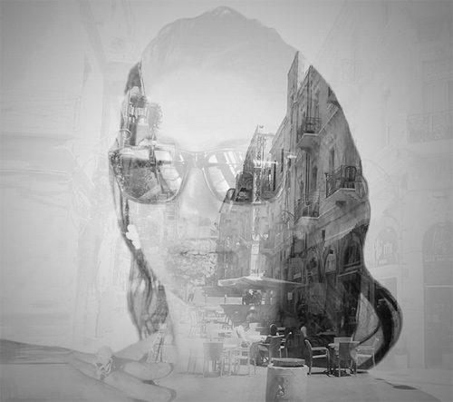 multiple exposure photography Alon Avissar