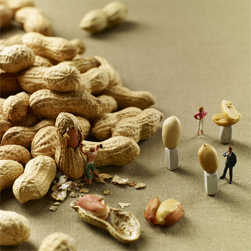 minimiam food photogpraphy tiny people Akiko Ida Pierre Javelle
