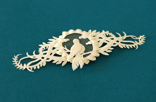 Bird Papercut