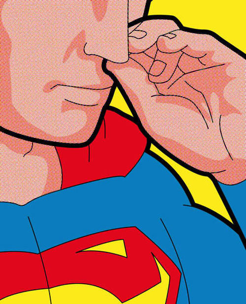 Secret Life of Super Heroes Nose Pick