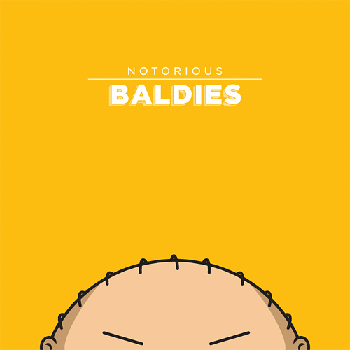 peruca notorious baldies