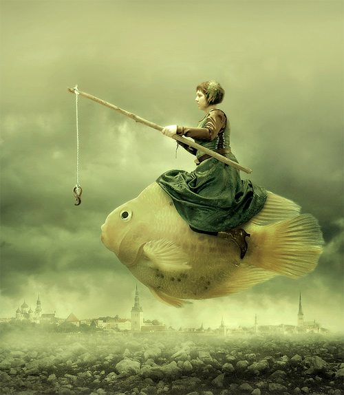 amandine van ray surreal digital art