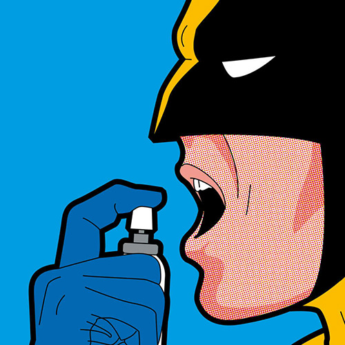 Secret Life of Super Heroes Mouth