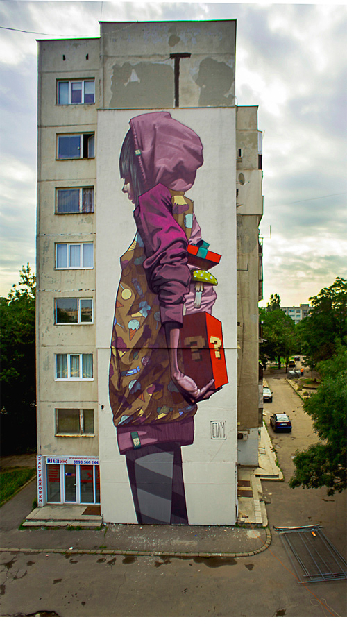 sainer graffiti street art