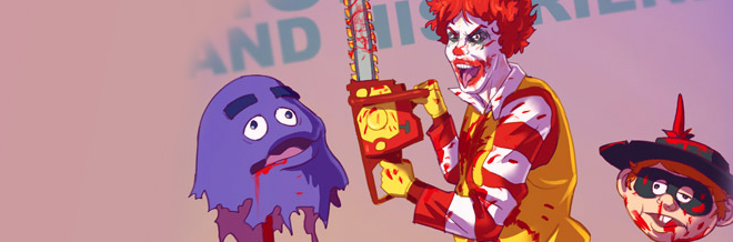 Famous Characters Utterly Transforms To Badass Illustrations