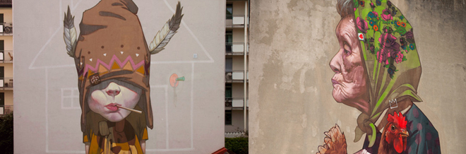 Be Amazed With These Impressive Large-Scale Graffiti Street Art