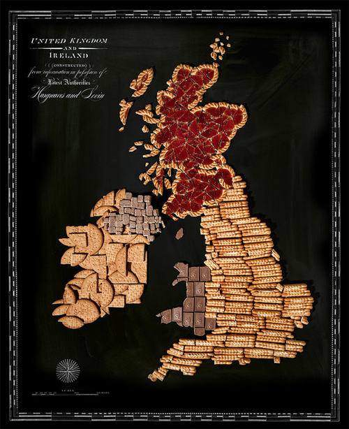 Henry Hargreaves food maps