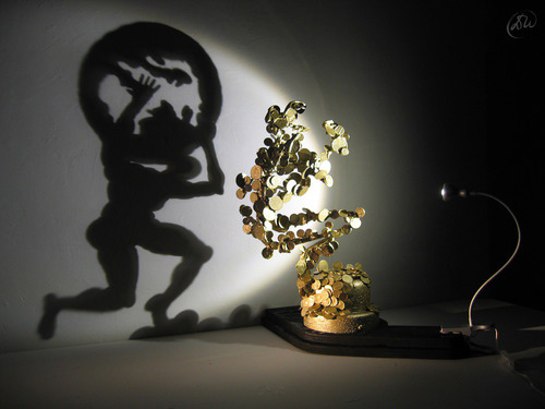 Diet Wiegman light sculptures shadow sculptures