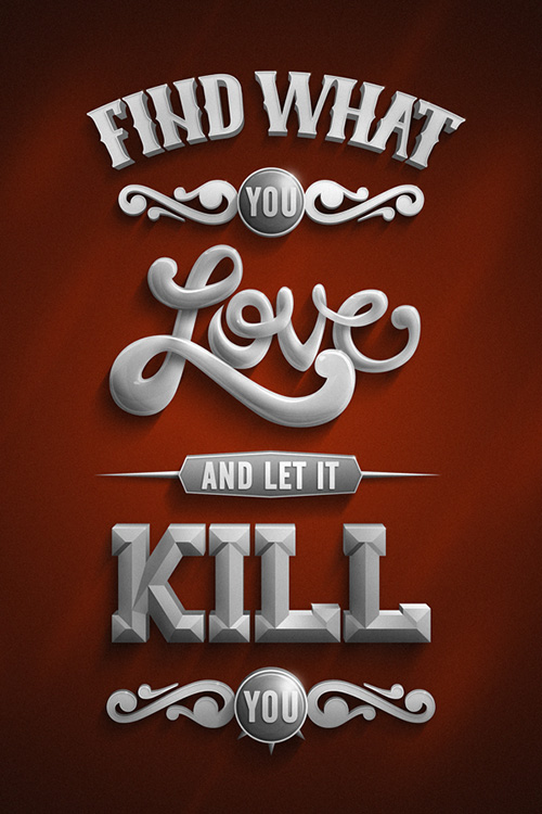 Let It Kill You.