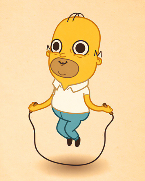 Mike Mitchell cute character illustrations