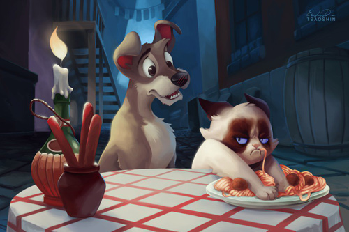 Eric Proctor TsaoShin Grumpy Cat Disney Animated Films