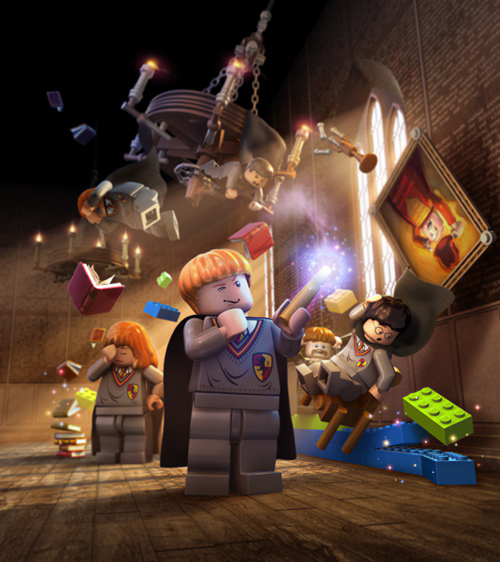 Albert Co lego marvel heroes harry potter