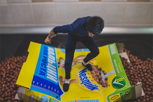 VSE OK action figure photography